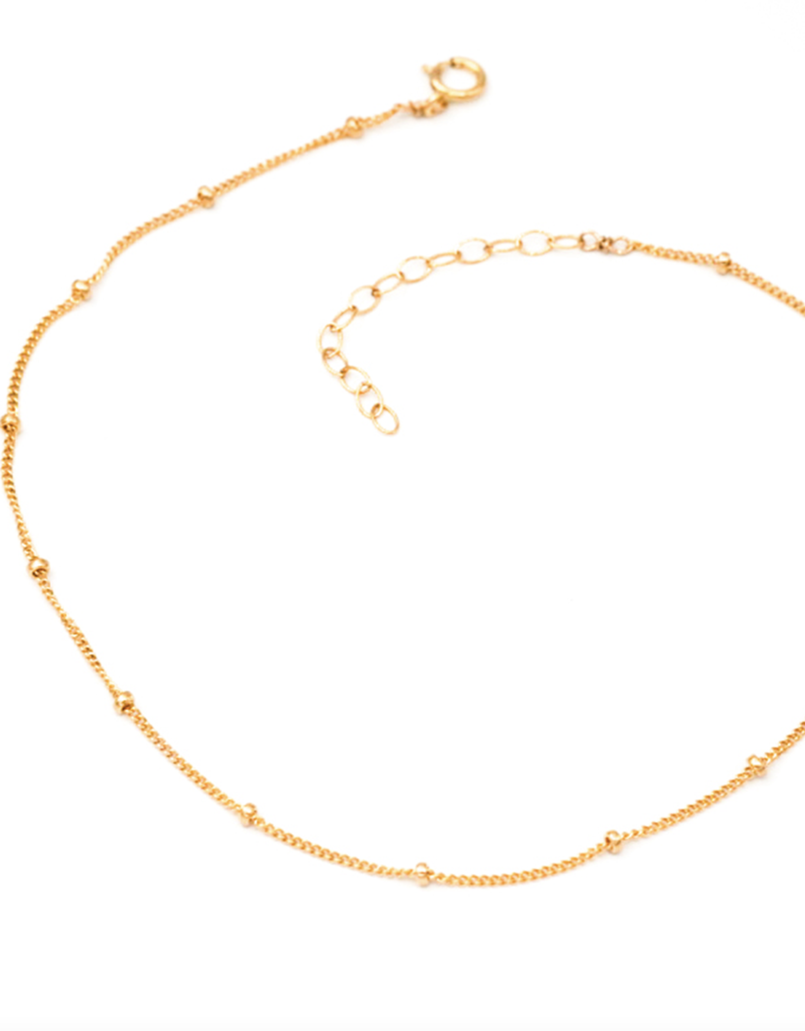 Dotted Chain Anklet