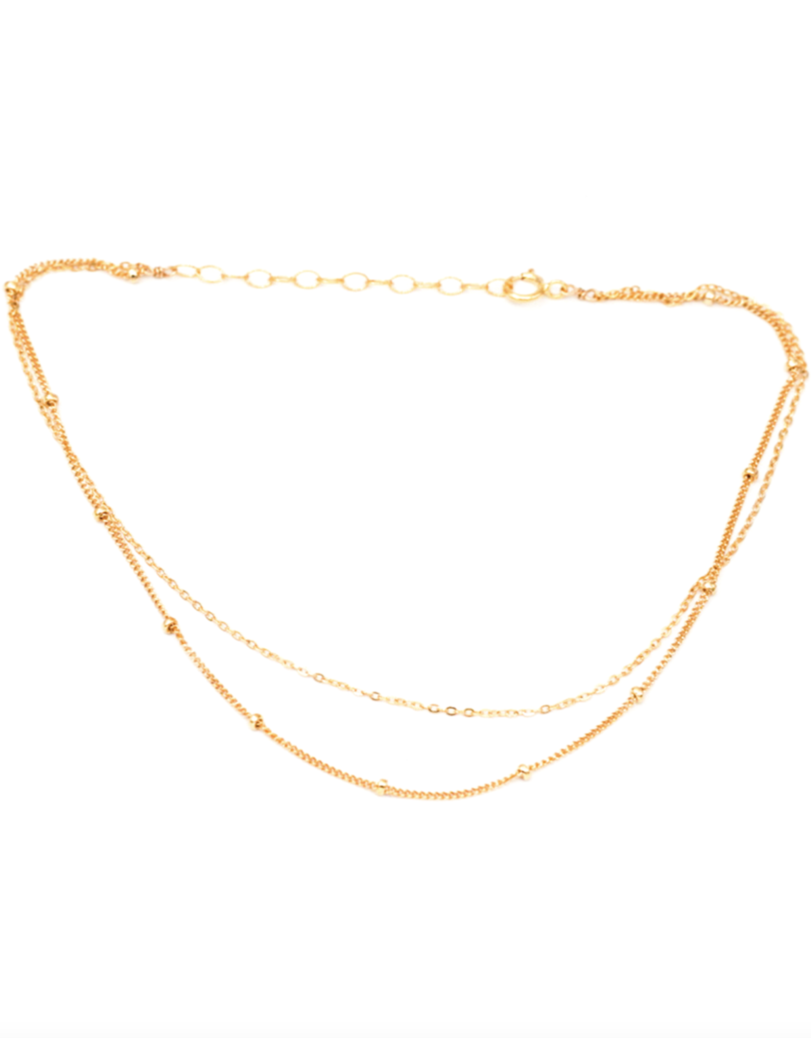 Double Strand Anklet