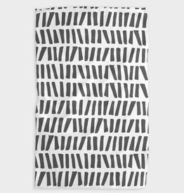 All Lined Up Kitchen Tea Towel