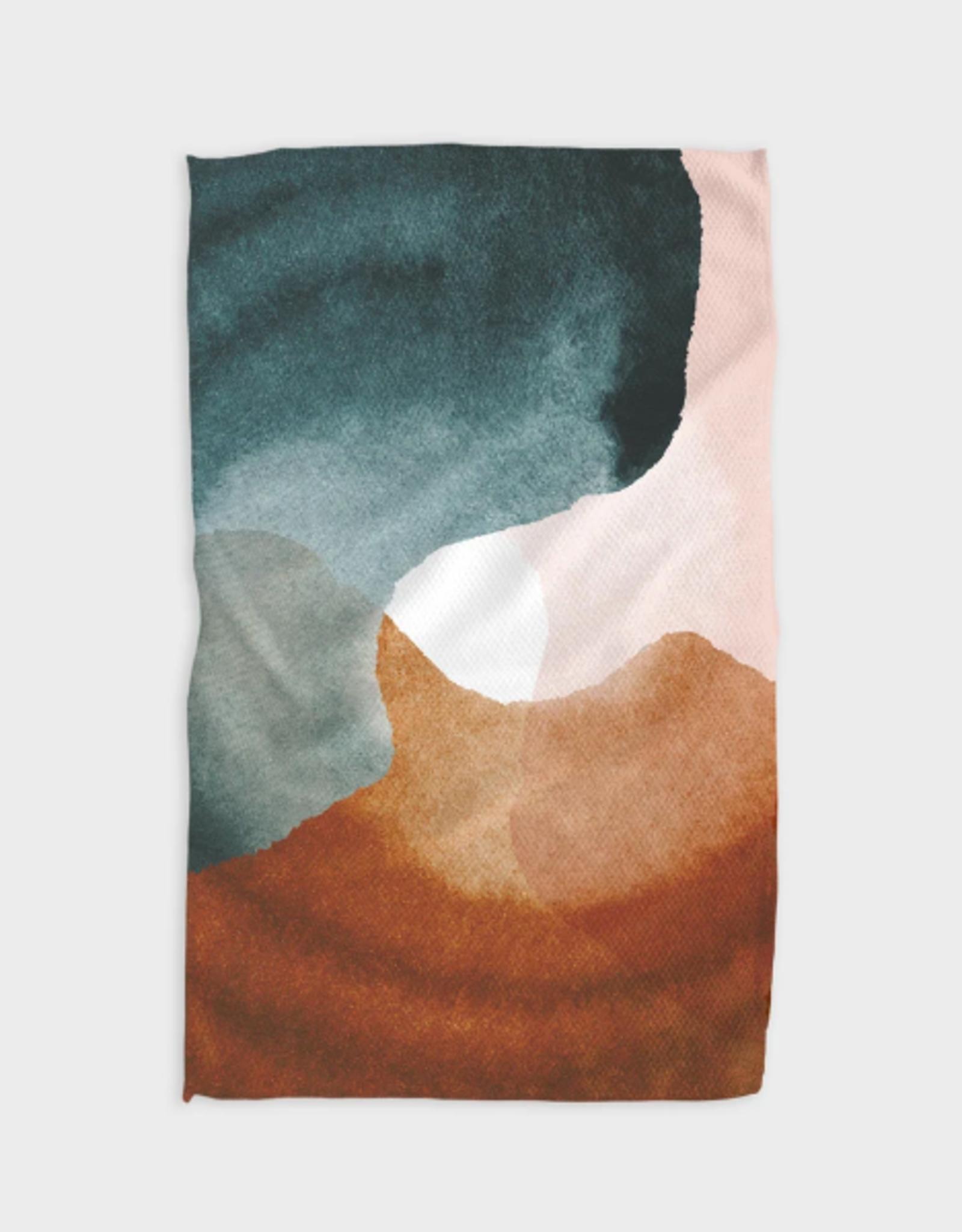 Centered Kitchen Tea Towel