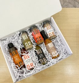 Red Clay Salt + Sauce Gift Set