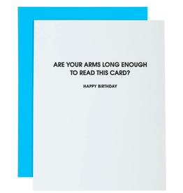 Arms Long Enough Birthday Card