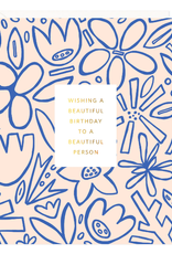 Beautiful Birthday Garden Card