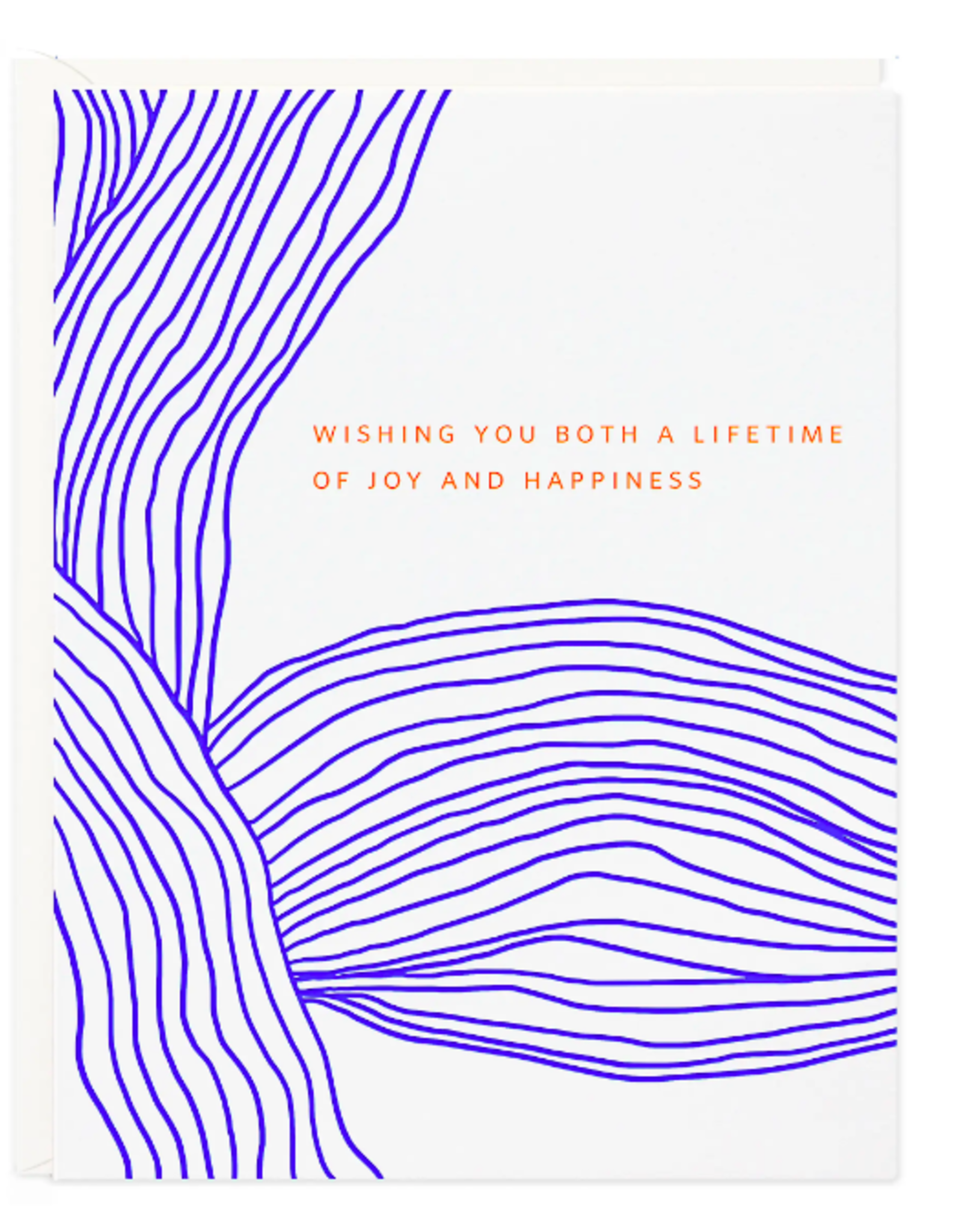 Lifetime of Joy Lines Card