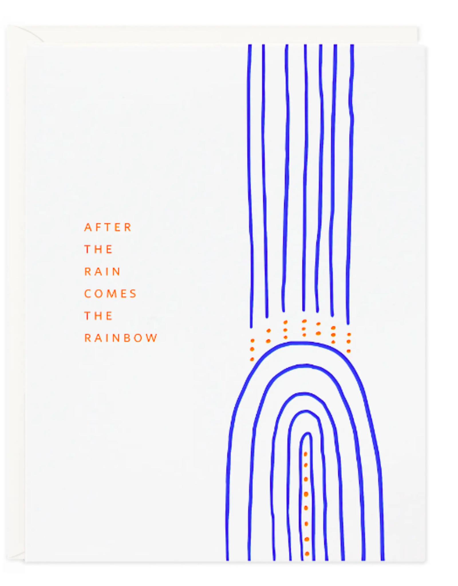 Rainbow After Rain Card