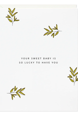 Sweet Lucky Baby Card