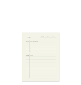 To Do Today Block Notepad