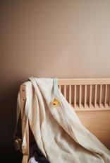 Retro Stripes Muslin Swaddle Blanket Organic Cotton