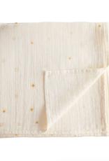 Sun Muslin Swaddle Blanket Organic Cotton