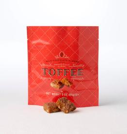 Milk Chocolate Almond Toffee Squares - 3 oz.