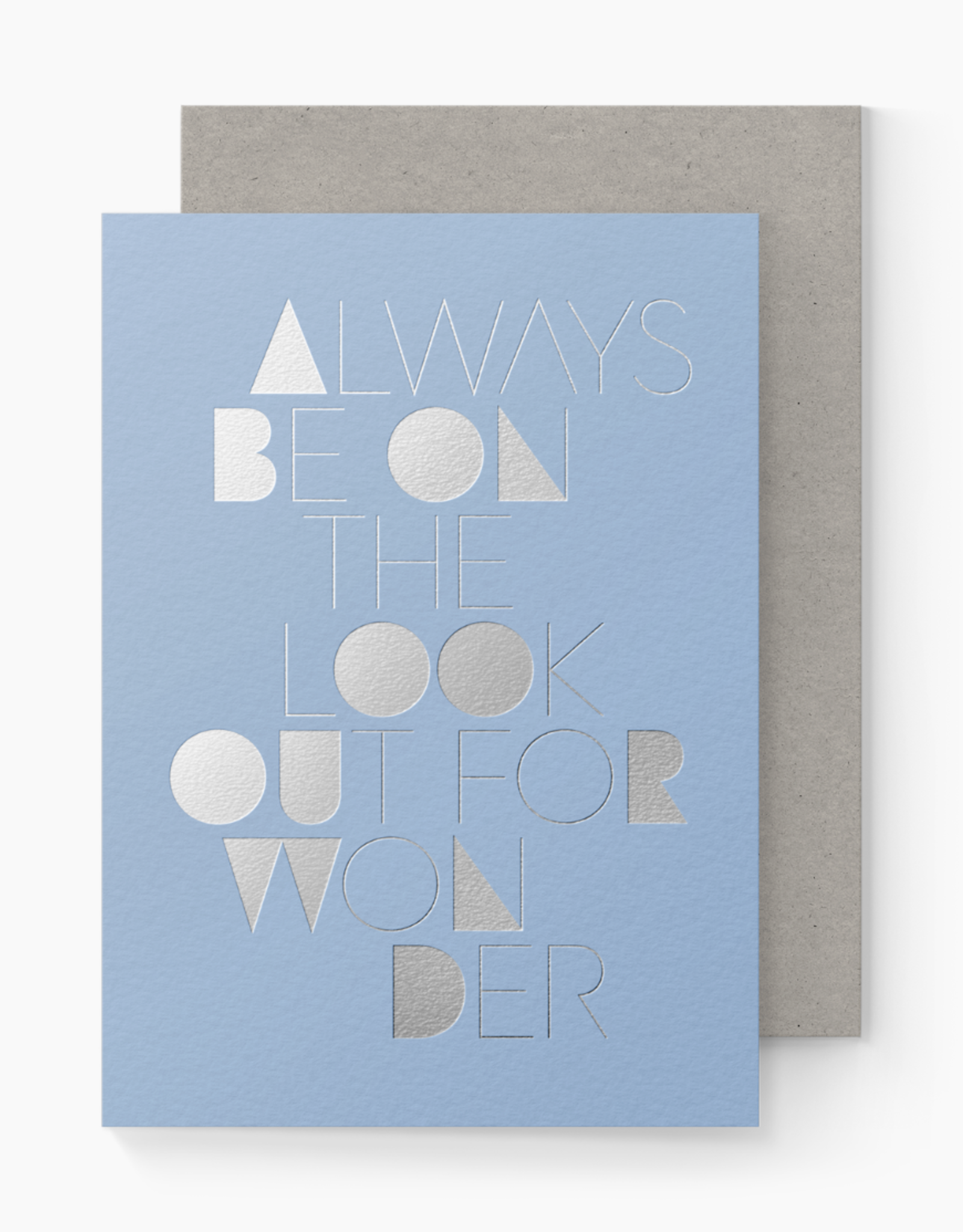 Lookout for Wonder Card
