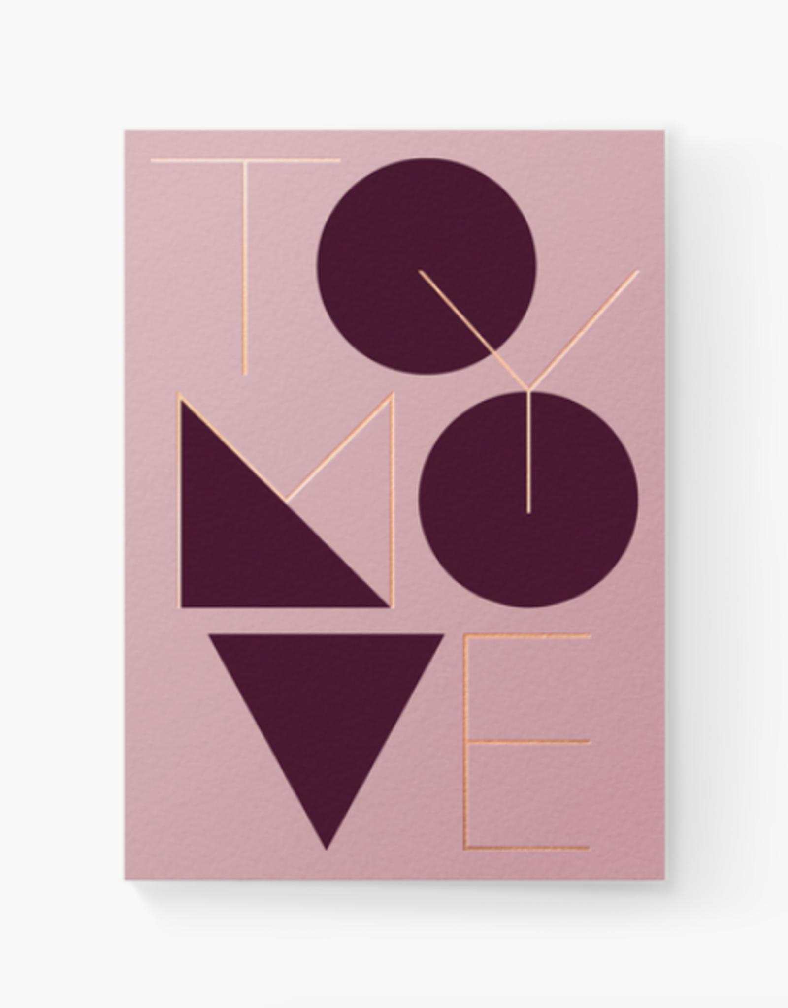 To My Love Card