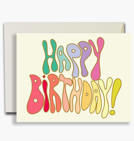 HBD Groove Card