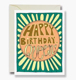 HBD Queen Card