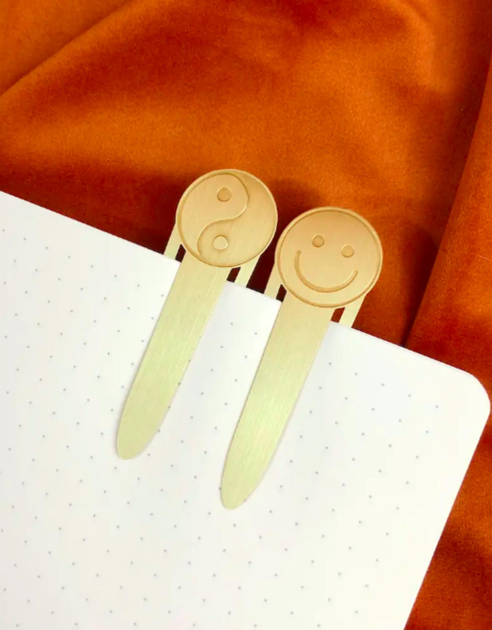 Yin Yang & Smiley Bookmarks