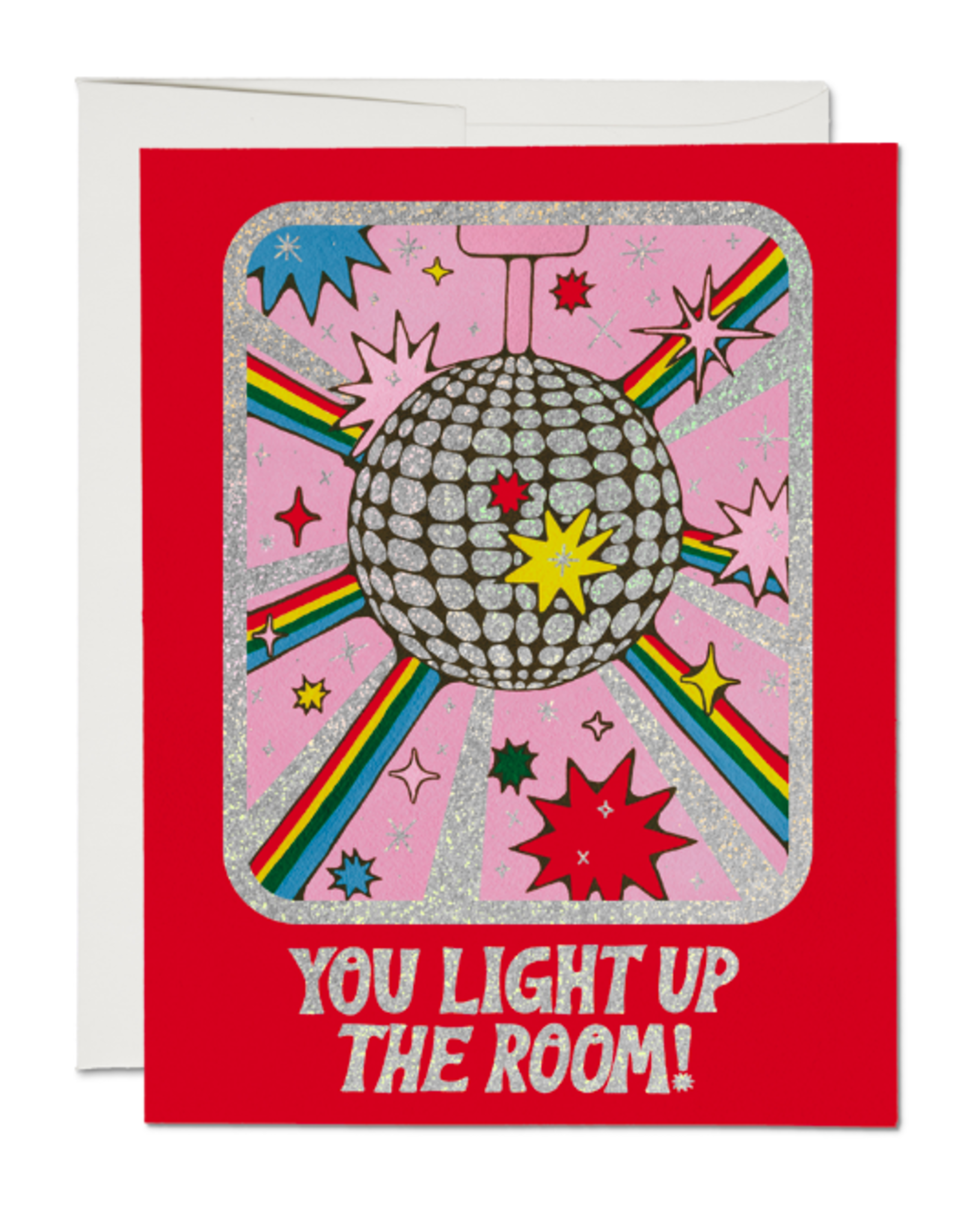 You Light Up the Room Card