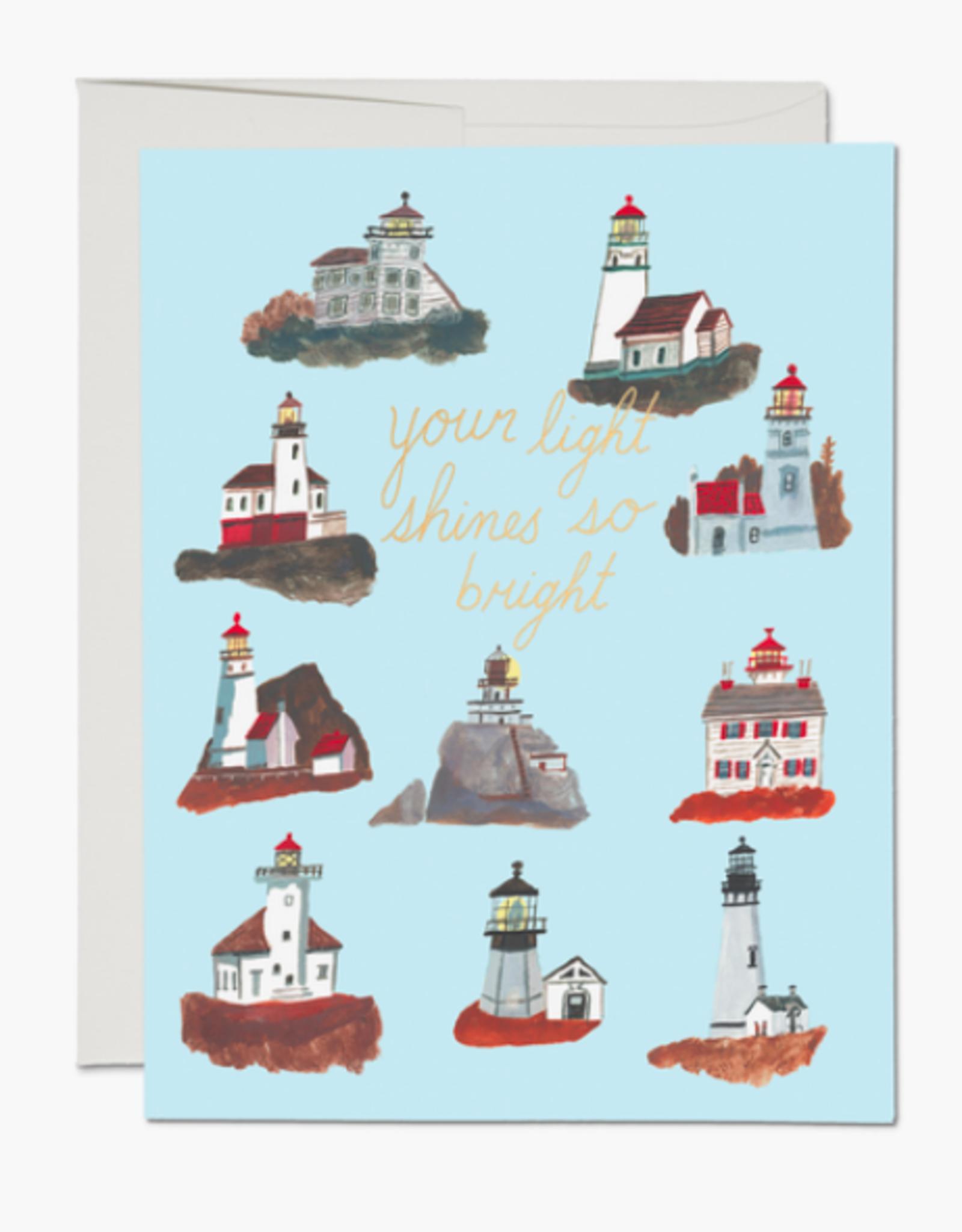 Lighthouses Card