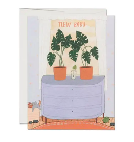 Nursery Plants Card