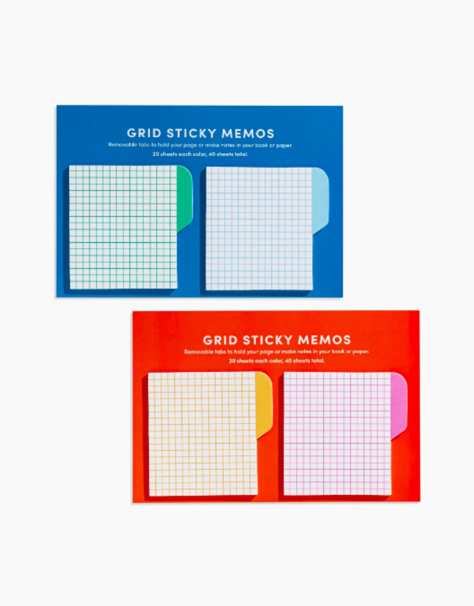 Grid Sticky Memos