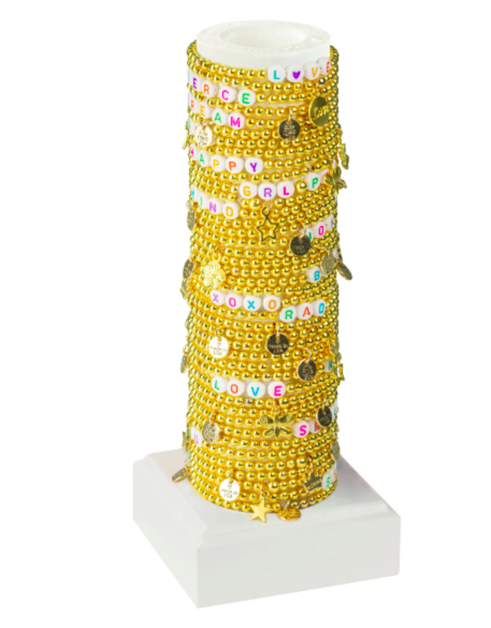 Dainty Gold Word Bracelet
