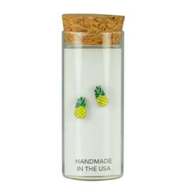 Studs in a Bottle - Pineapple