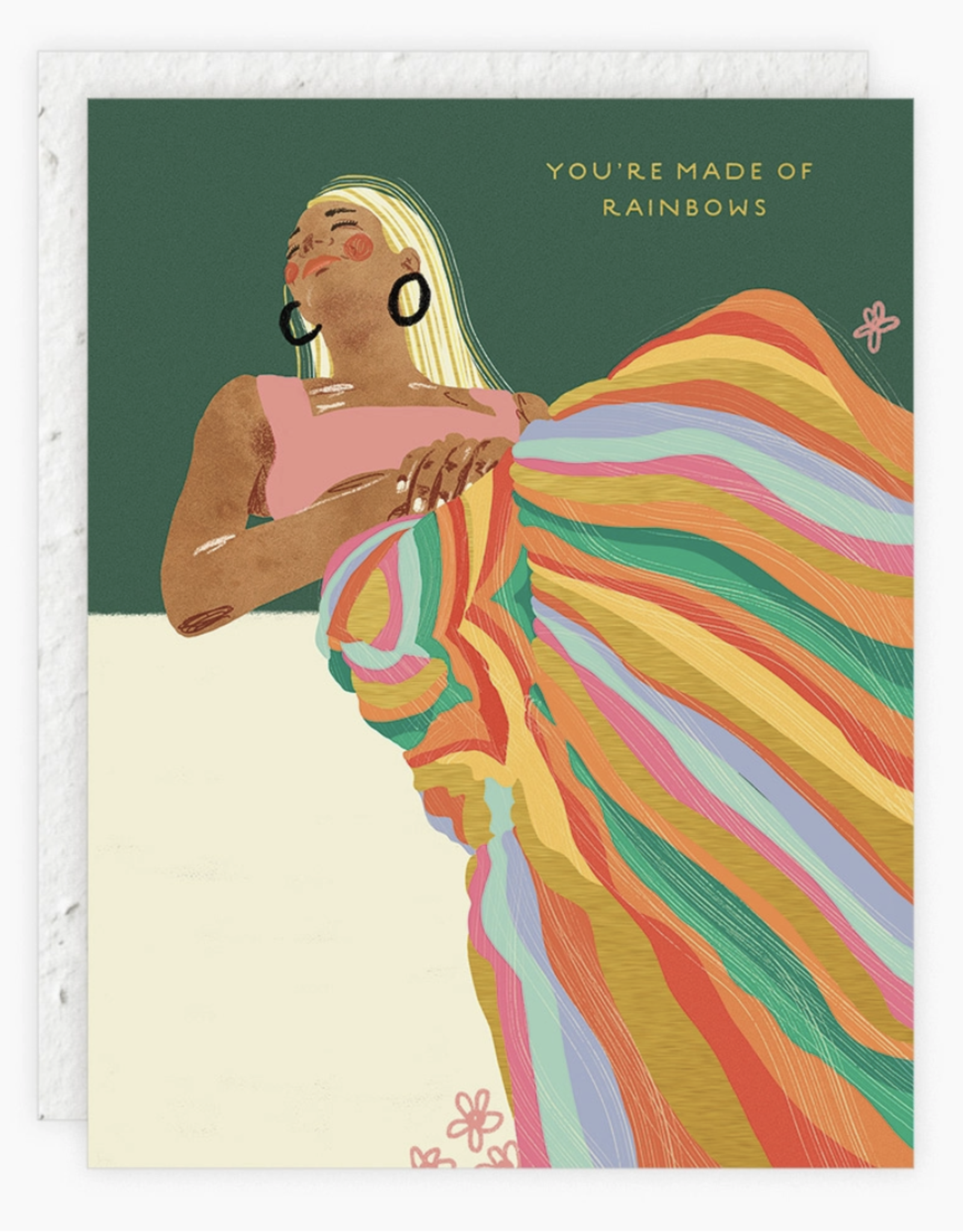 Made of Rainbows Birthday Card