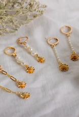 Fleur Drop Earrings