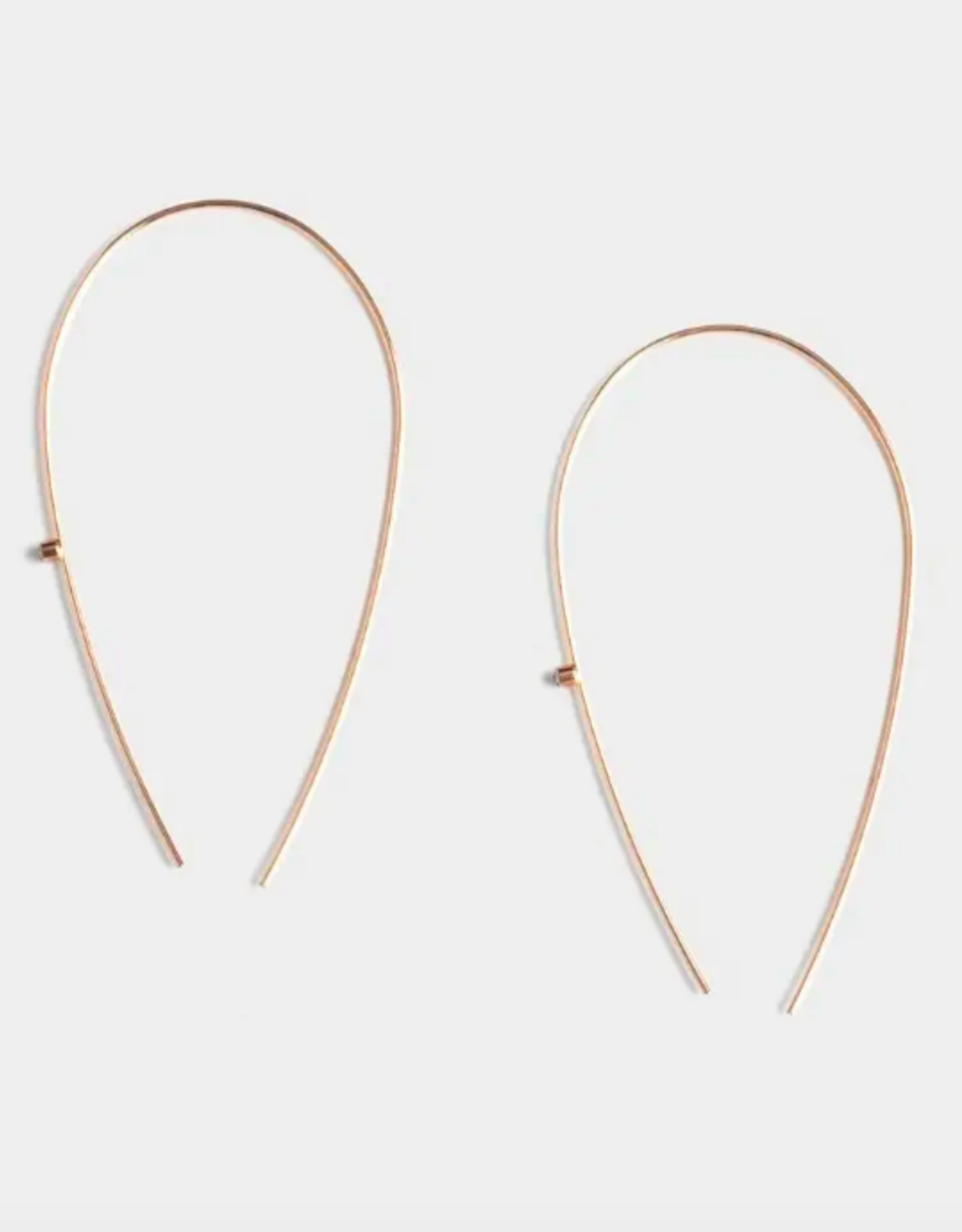 Ivy Long Arc Earrings
