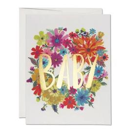 Baby Wreath Card