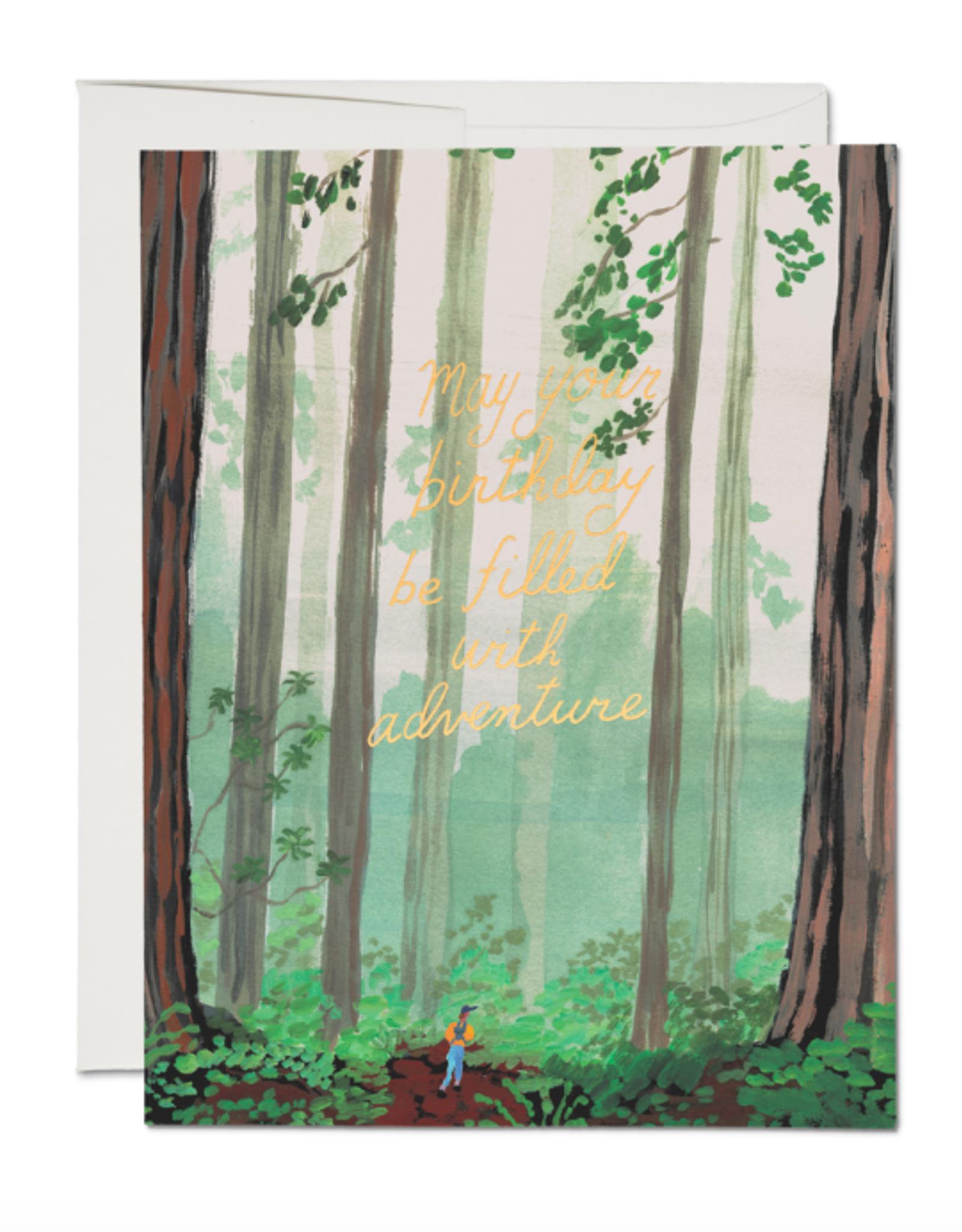 Birthday Adventure Card