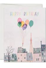 Paris Balloons Card