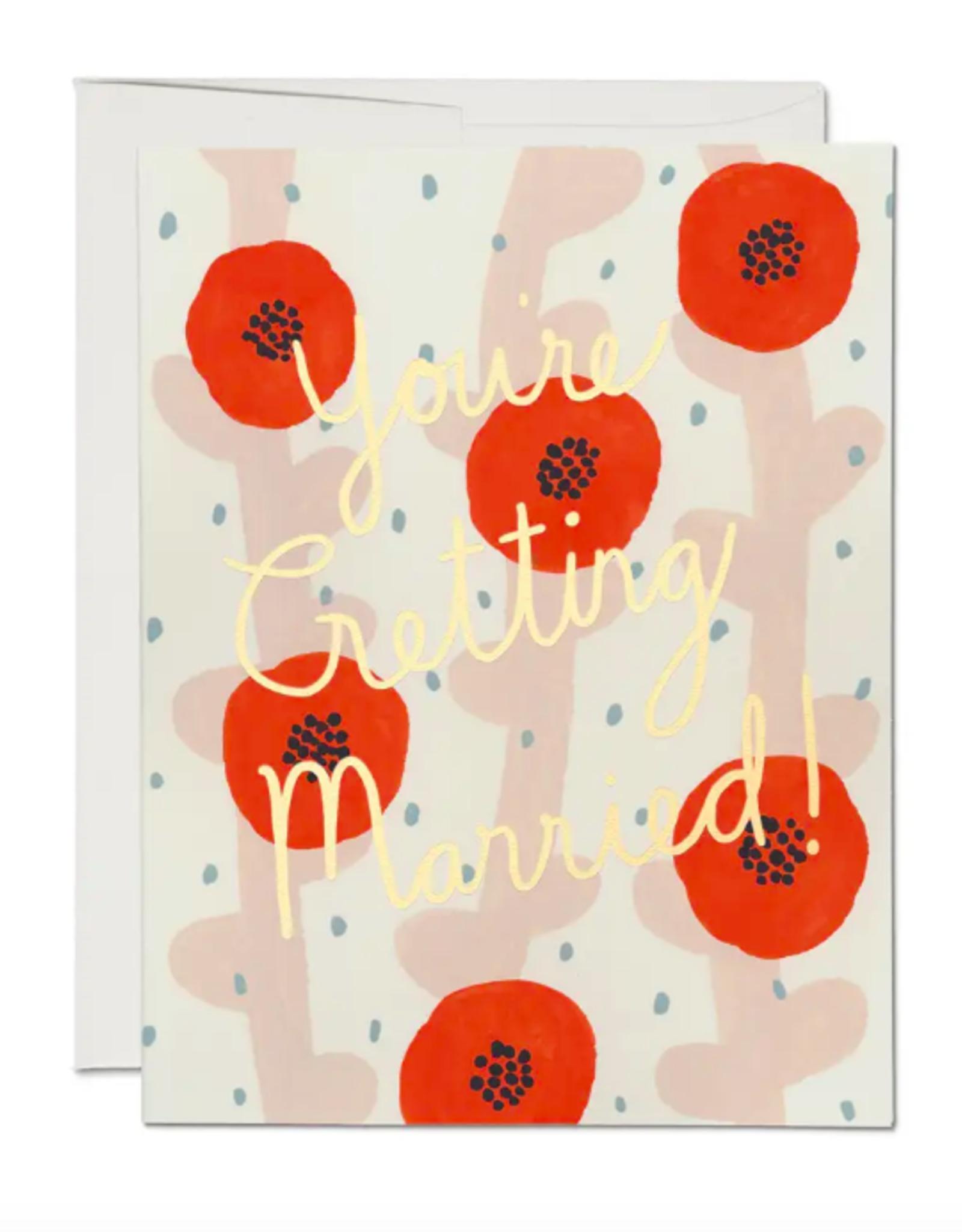 Wedding Poppies Card