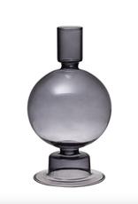 Smoke Glass Taper Holder