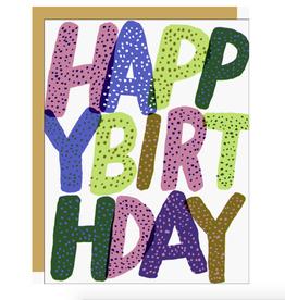 Birthday Type Card