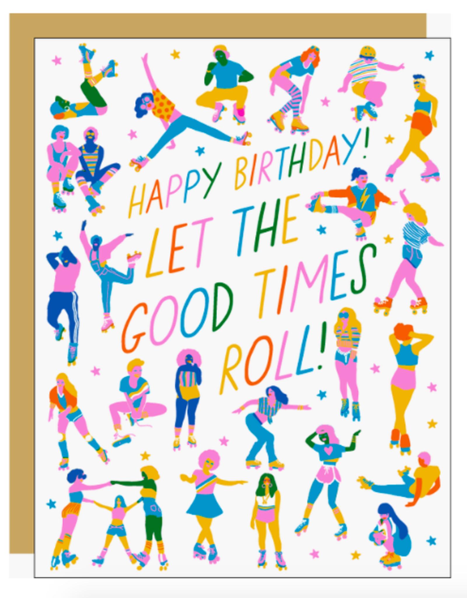 Roller Peeps Card