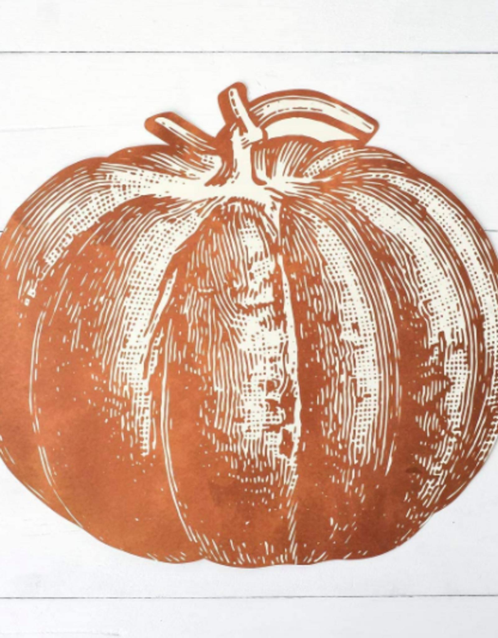 Die-Cut Pumpkin Placemat