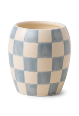 Checkmate Candle - Cotton & Teak