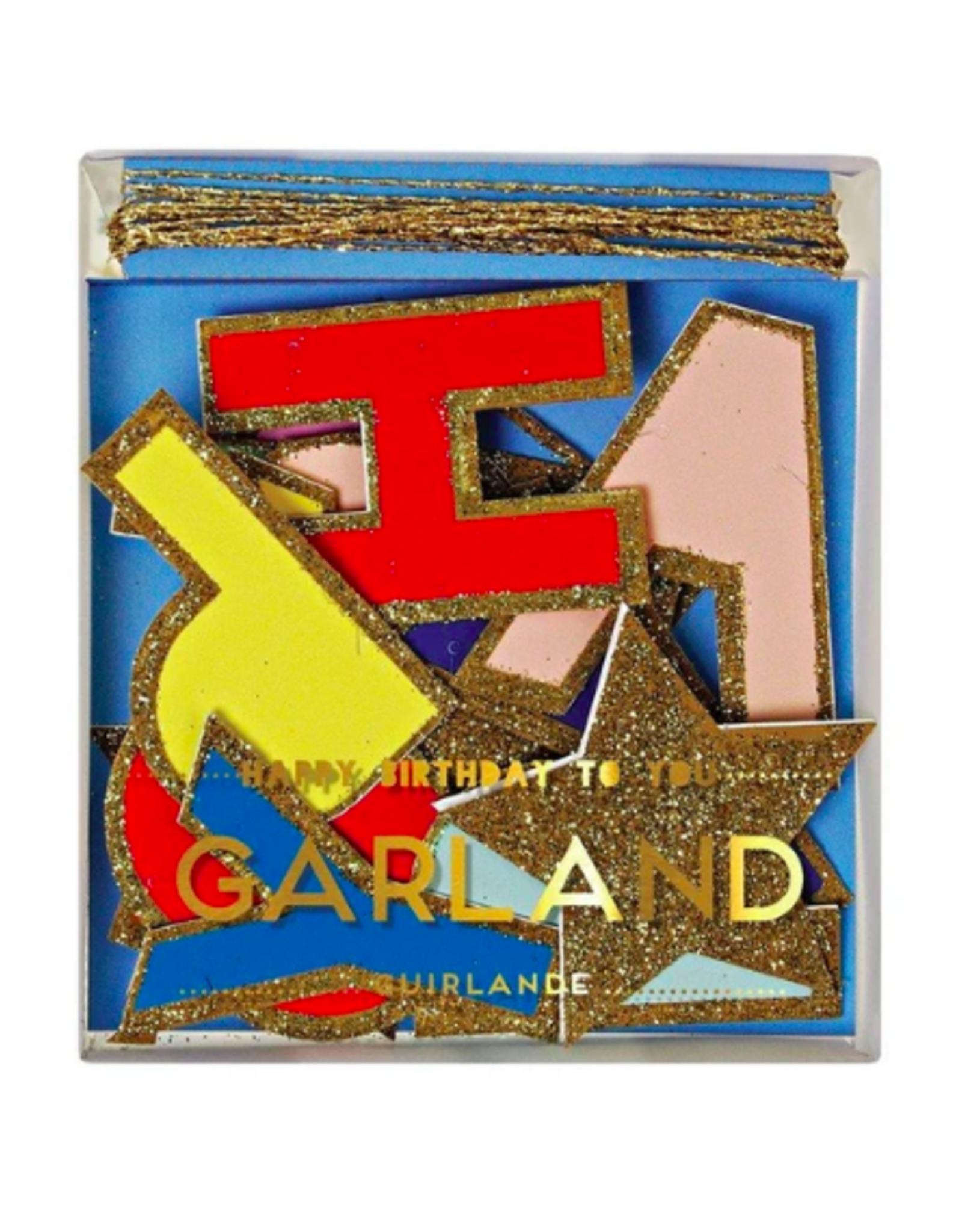 Happy Birthday To You Mini Garland