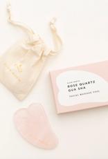 Gua Sha - Rose Quartz