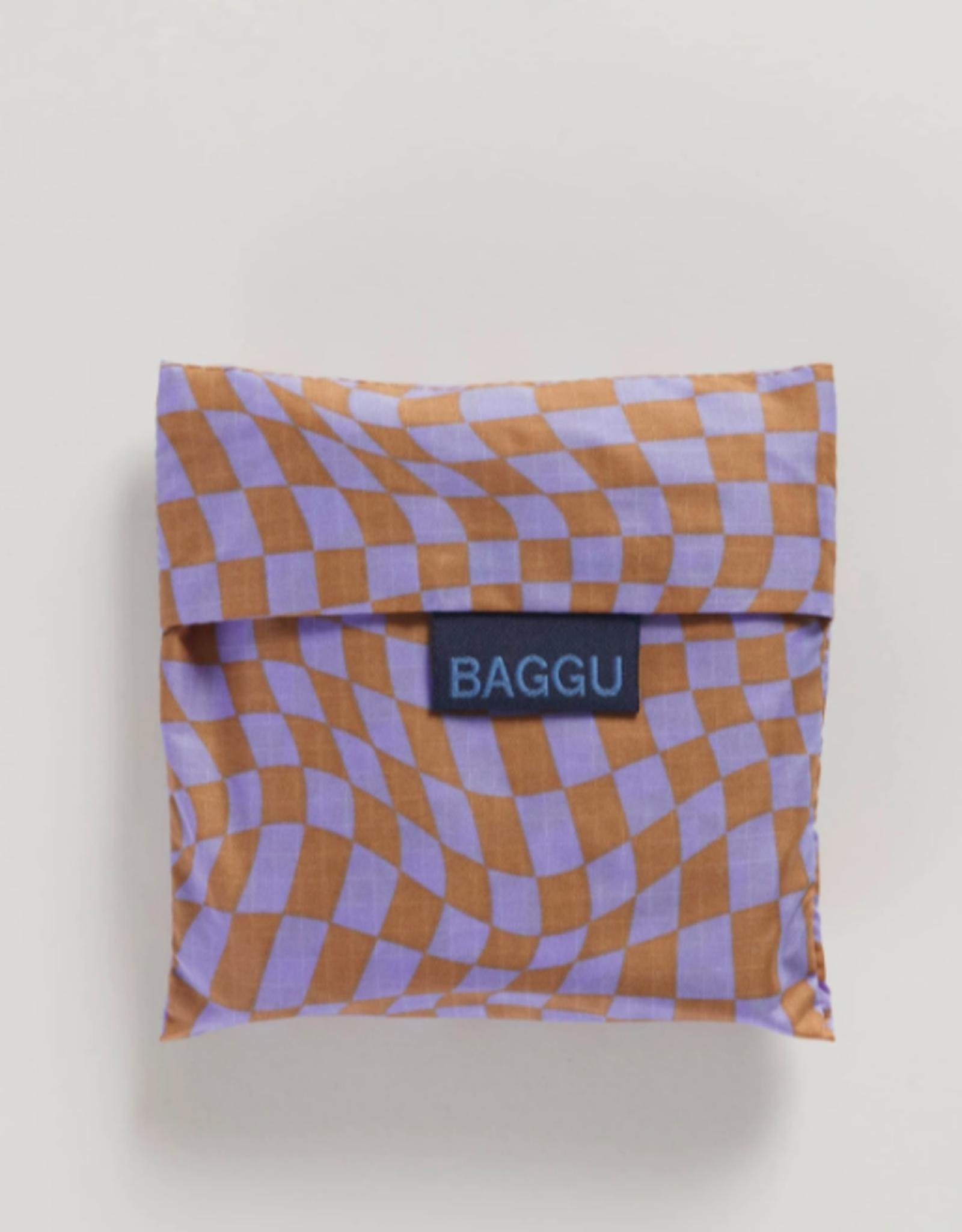 Standard Baggu - Lavender Trippy Checker
