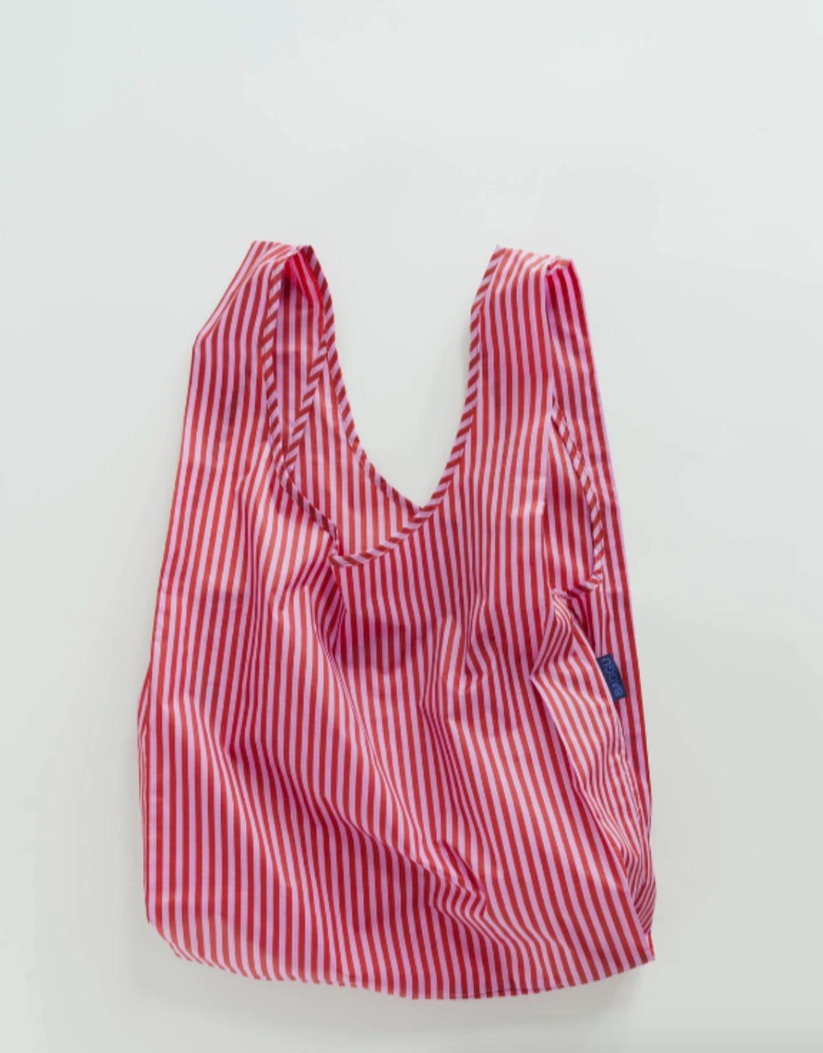 Standard Baggu - Cerise Stripe