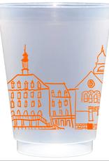 Oklahoma State University Skyline Shatterproof Cups