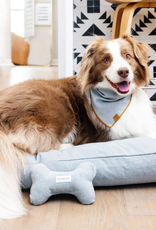 Upcycled Denim Dog Bone Squeaky Toy
