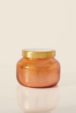 Pumpkin Dulce Copper Glittered Ombre Petite Candle