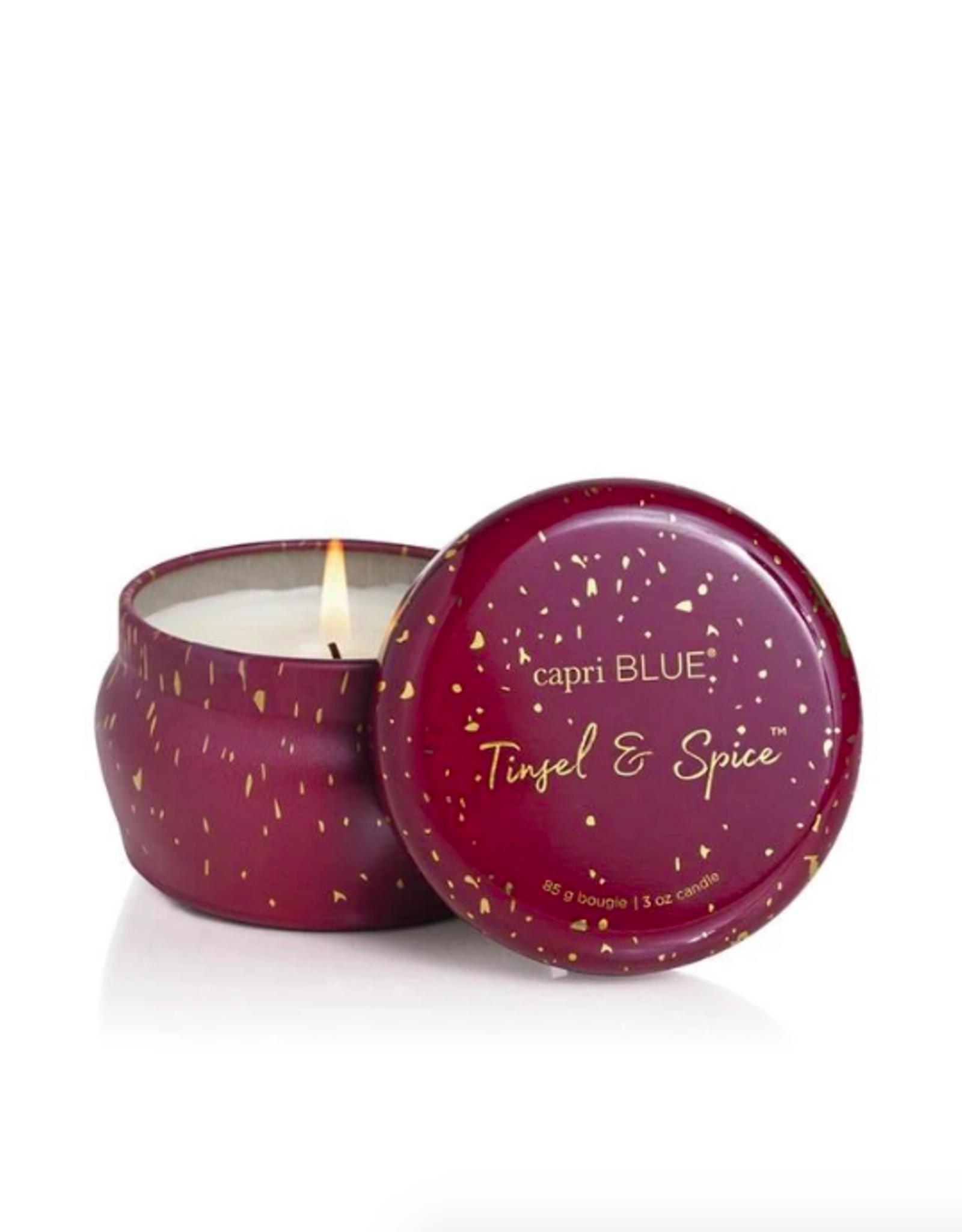 Tinsel & Spice Glimmer Mini Tin