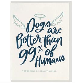 Dog Halo Card