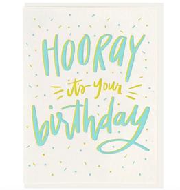 Hooray! Birthday Card