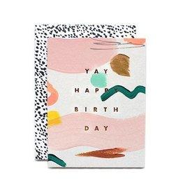 Yay Birthday Card