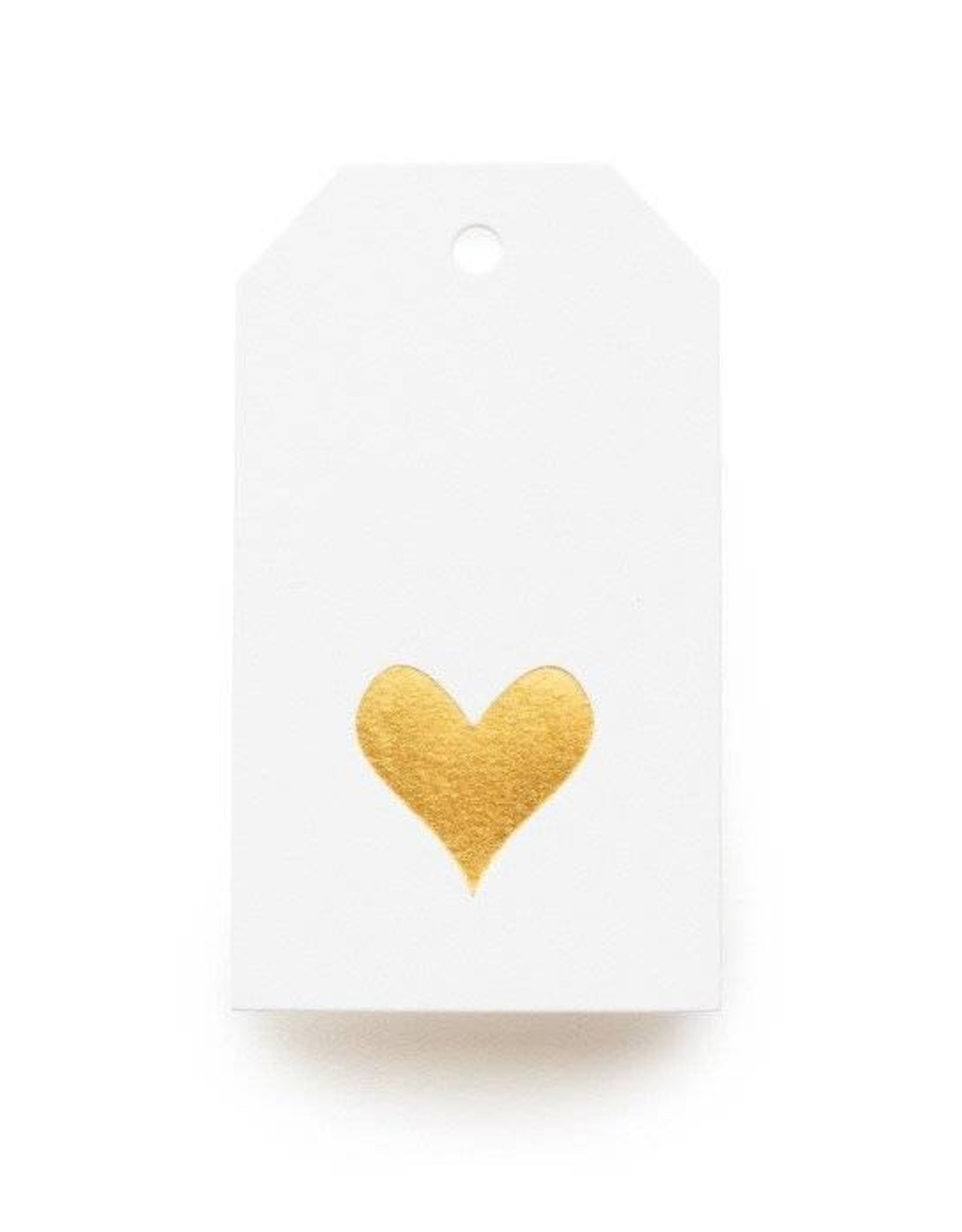 Gold Heart Tag