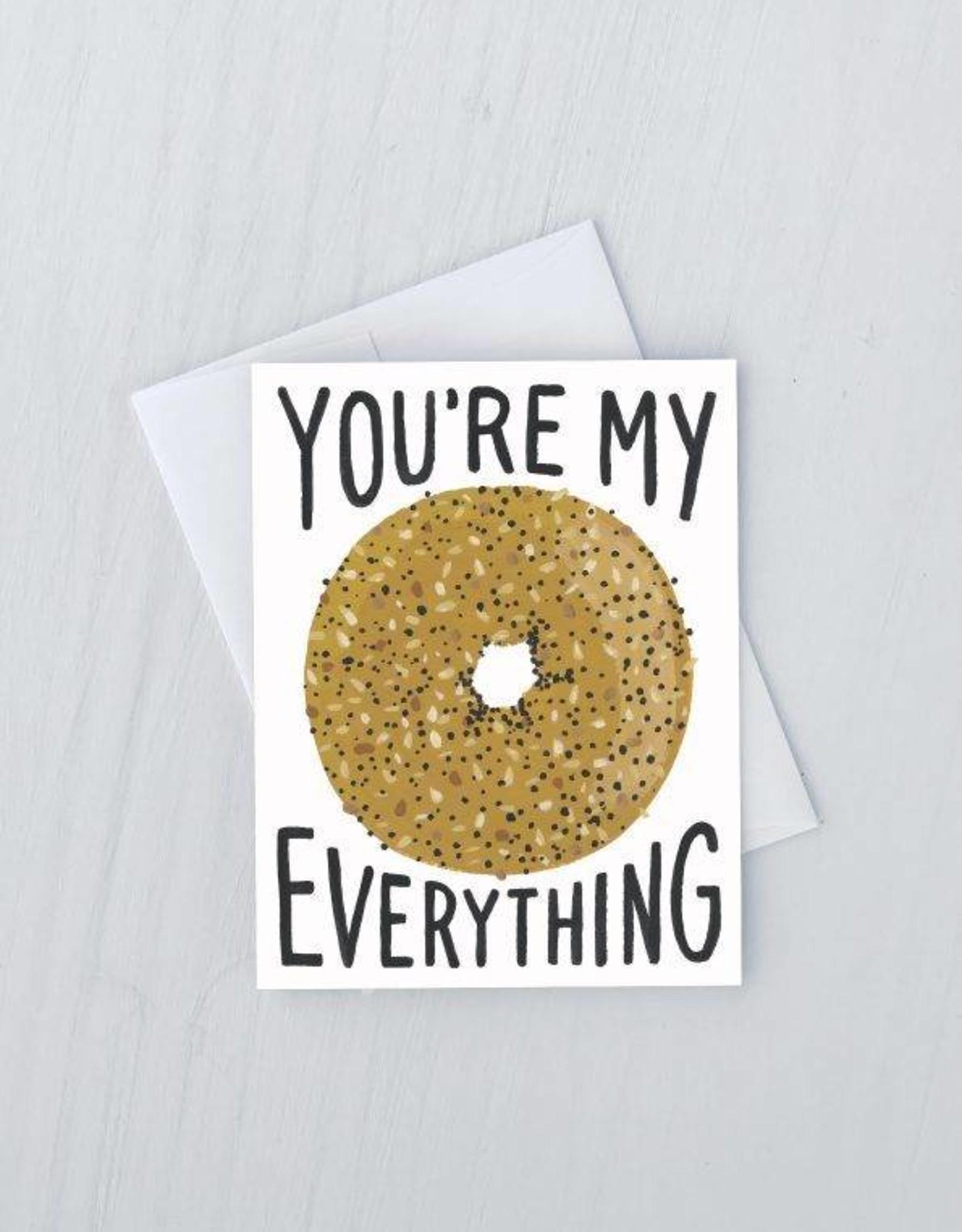 Everything Bagel Card